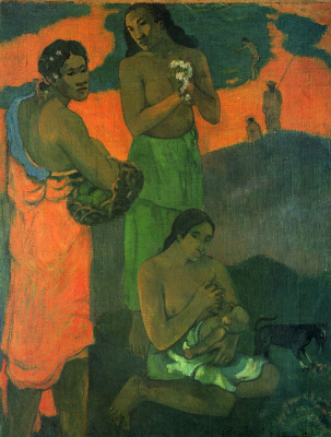 Paul Gauguin. Motherhood