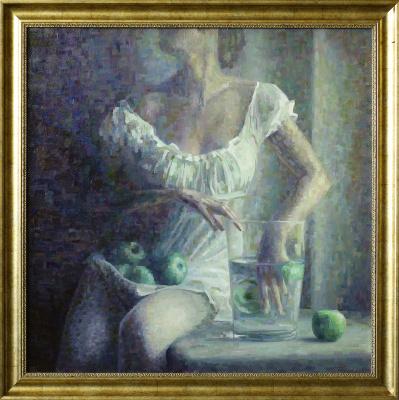 Сергей Витальевич Тепляков. Девушка с зелеными яблоками