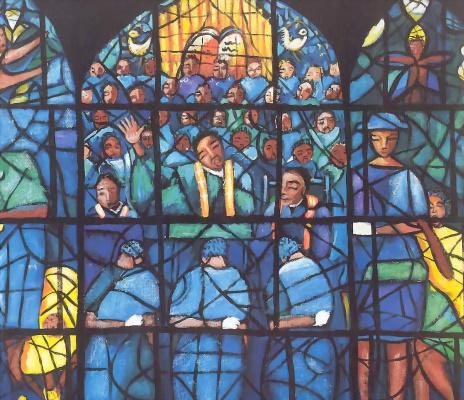 Майкл Вуд. Церковь