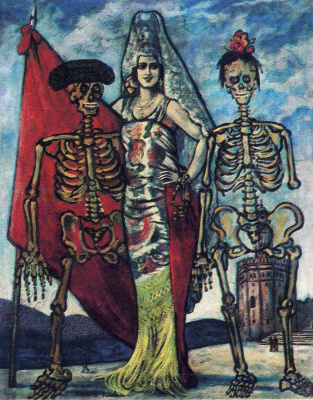 Francis Picabia. Skeletons