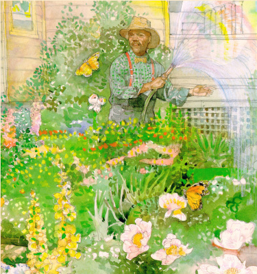 Джерри Пинкни. Бабочки в саду