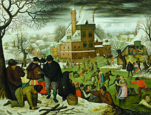 Peter Brueghel The Younger. Four seasons. Winter