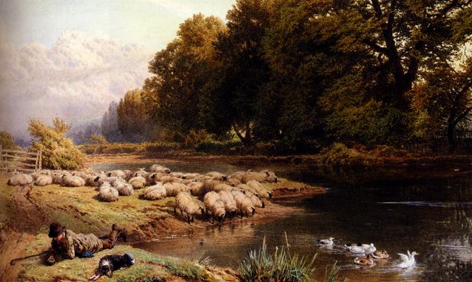 Отдых пастухов