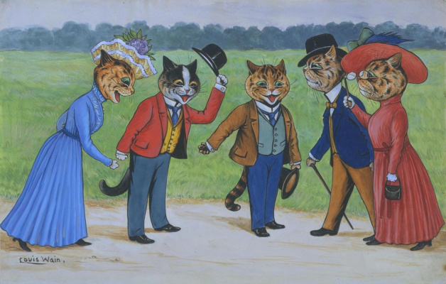 Louis Wain. My friend prince