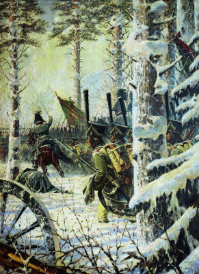 "Vasily Vasilyevich Vereshchagin. ""Bayonet! Yay! Hurrah!"" (Attack)"