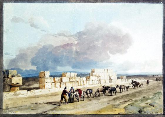 Руины стен храма Юпитера