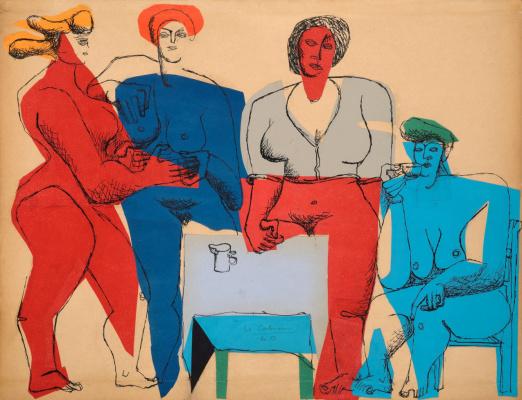 Le Corbusier. Four women