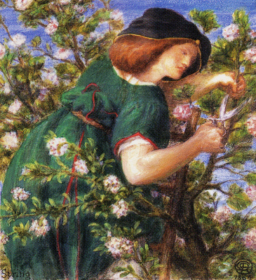Данте Габриэль Россетти. Садовница (Весна)