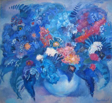 Oksana Viktorovna Zalevskaya. Blue breath.