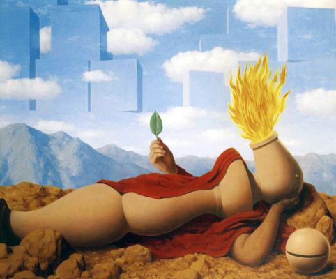 René Magritte. Elementary cosmogony