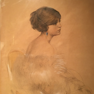 Ramon Casas i Carbó. Female portrait
