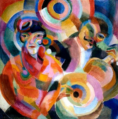Sonia Delaunay. Singer flamenco