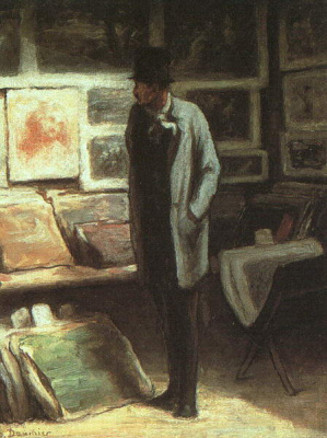 Honore Daumier. Picture