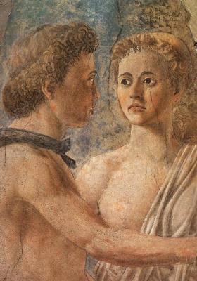 Piero della Francesca. The death of Adam (detail)