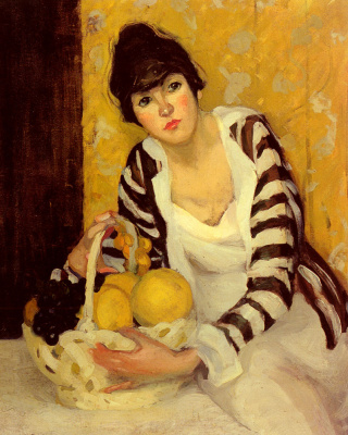 Джейн Петерсон. Девушка с фруктами