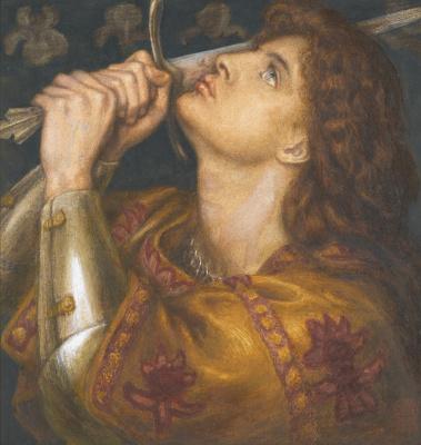Dante Gabriel Rossetti. Joan of Arc