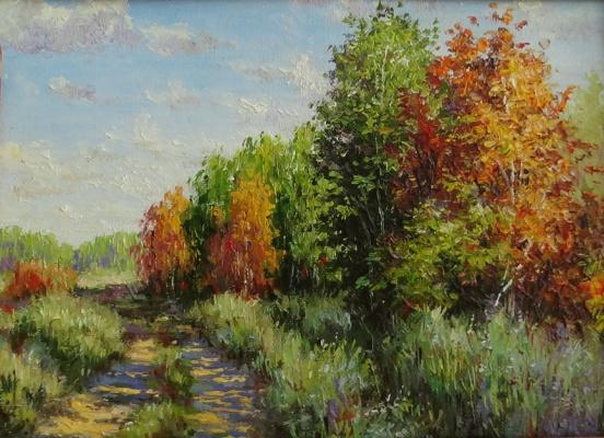 Irina Nikolaevna Borisova. Road to autumn