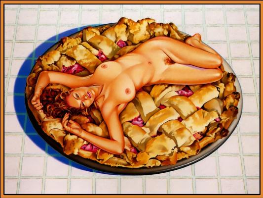 Mel Ramos. Dish