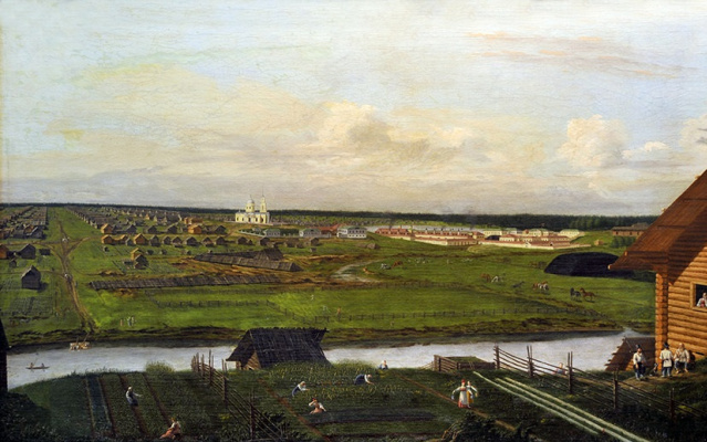 Павел Петрович Веденецкий (Веденцов). Scenery. Nizhnesaldinsky plant