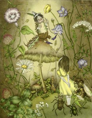 Адриенн Сегур. Беседа с гусеницей