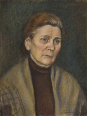Galina Petrovna Khmelevskaya. Mother's portrait