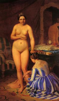 Alexey Gavrilovich Venetsianov. The Toilet Of Diana