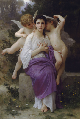 William-Adolphe Bouguereau. Awakening the heart