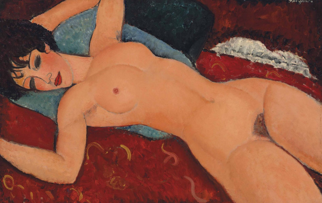 Amedeo Modigliani. Reclining Nude