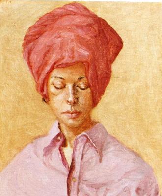 Авигдор Ариха. Женщина в красном платке