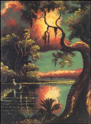 Гарольд Ньютон. Тропический пейзаж 50