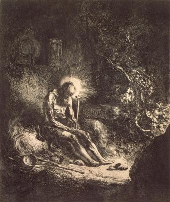 Jan Lievens. Saint Jerome in penitence