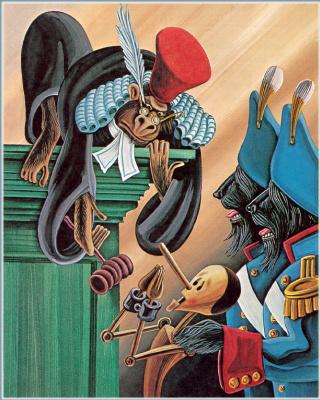 Джеральд Макдермотт. Пиноккио 11