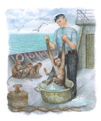 Vitaly Vasilevich Dudarenko. Bath day