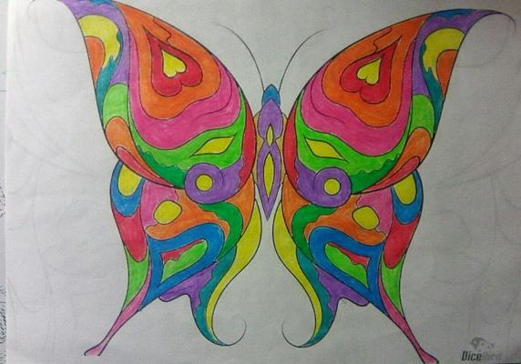 "Dmitry Vladimirovich Babaev. ""Cosmic Butterfly"""