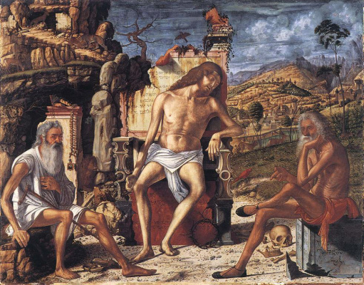 Vittore Carpaccio. Meditation on the Passion of Christ