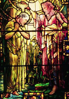 Луис Комфорт Тиффани. Крещение Иисуса