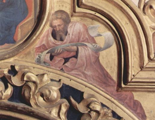Gentile da Fabriano. The Prophet Isaiah