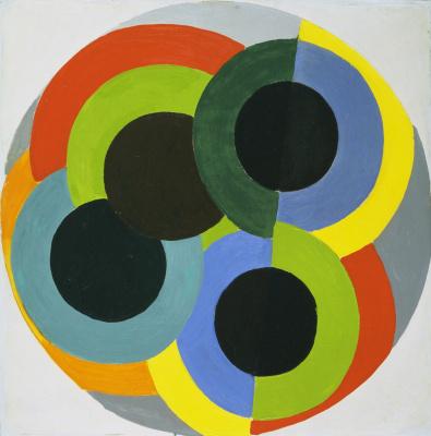 Robert Delaunay. Disks