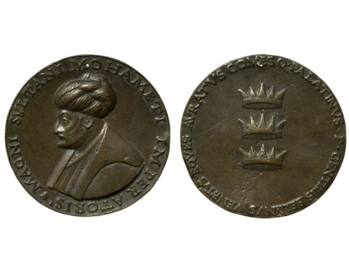 Gentile Bellini. Portrait of Mehmet II