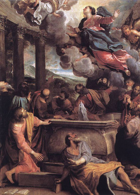 Annibale Carracci. The Assumption Of The Blessed Virgin Mary