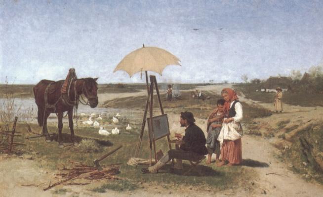 Антон Козакевич. Лошадь