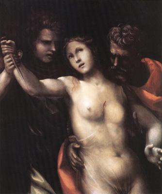 Джованни Антонио Бацци (Содома). Смерть Лукреции