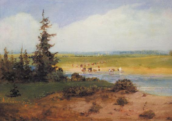 Alexey The Kondratyevich Savrasov. Summer landscape