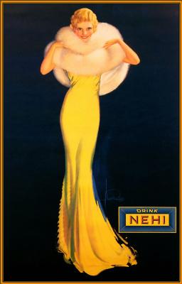 Армстронг Рольф. Длинное желтое платье