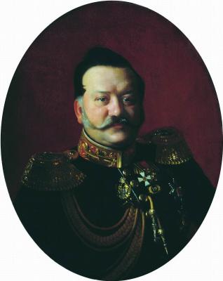 Sergey Konstantinovich Zaryanka. Portrait of Lieutenant-General Yakov Ivanovich Rostovtsev