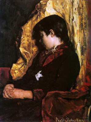 Сьюз Робертсон. Спящая девочка