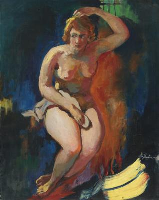 Filipp Andreevich Malyavin. The Kazan virgin