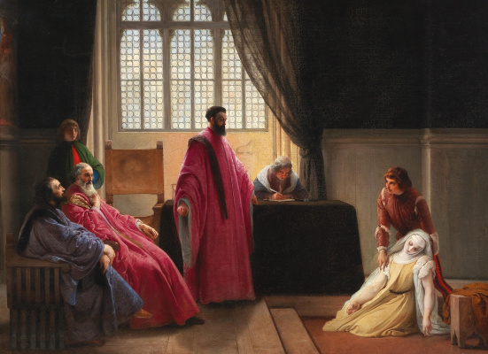 Francesco Ayets. Valanza Gradenigo before the Inquisition