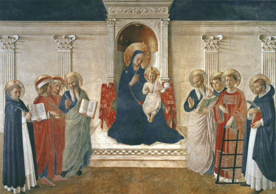 Фра Беато Анджелико. Мадонна Теней. Около 1443