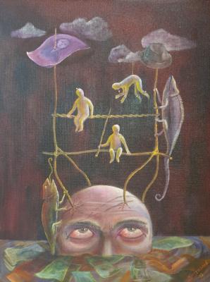 Alik Khazgaleev. Puppet Seller
